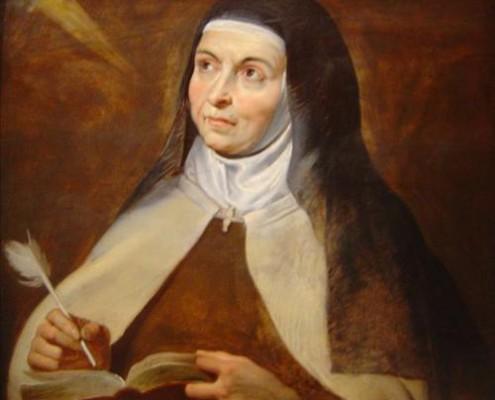 Santa Teresa, Patrona de la Asociación de Veteranos de Intendencia